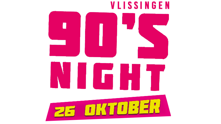 90s Night Vlissingen Logo